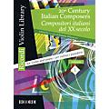 Ricordi 20th Century Italian Composers (Volume 1 Violin and Piano) MGB Series Softcover thumbnail