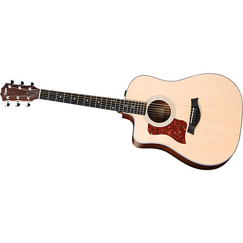 Taylor 210-CE-G-L Dreadnought Left-Handed Acoustic-Electric Guitar