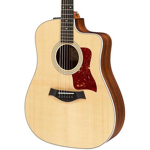Taylor 210ce-DLX Dreadnought Acoustic-Electric Guitar