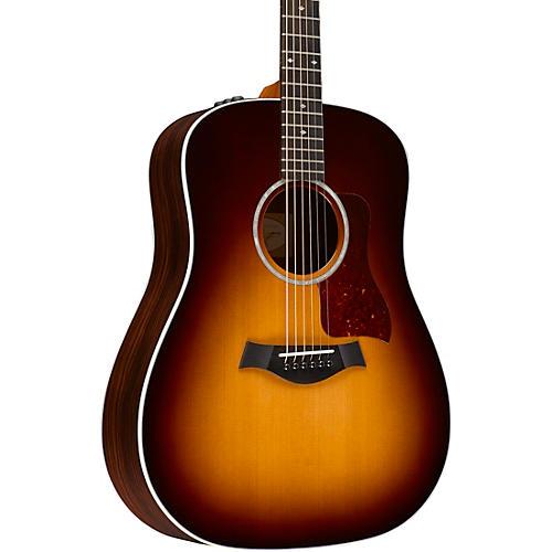 Taylor 210e Deluxe Dreadnought Acoustic-Electric Guitar Tobacco Sunburst