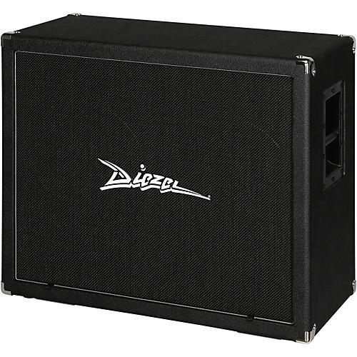 Diezel 212FV 120 2x12 Front-Loaded Guitar Speaker Cabinet with Celestion Vintage 30s Black