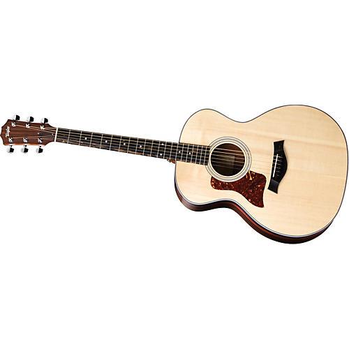 Taylor 214-G-L Grand Auditorium Left-Handed Acoustic Guitar (2010 Model)