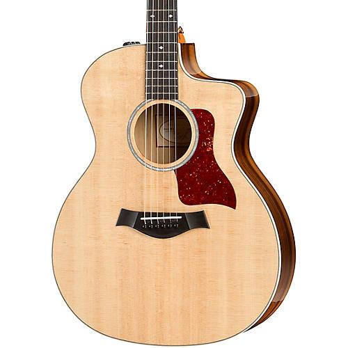 taylor 214ce k dlx grand auditorium acoustic electric guitar natural musician 39 s friend. Black Bedroom Furniture Sets. Home Design Ideas