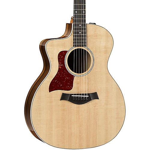taylor 214ce k dlx grand auditorium left handed acoustic electric guitar natural musician 39 s friend. Black Bedroom Furniture Sets. Home Design Ideas