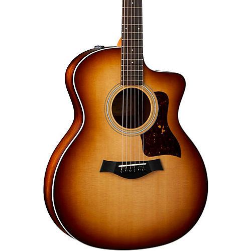 Taylor 214ce-K Grand Auditorium Acoustic-Electric Guitar Shaded Edge Burst