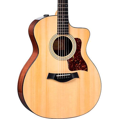 Taylor 214ce Plus Grand Auditorium Acoustic-Electric Guitar Natural
