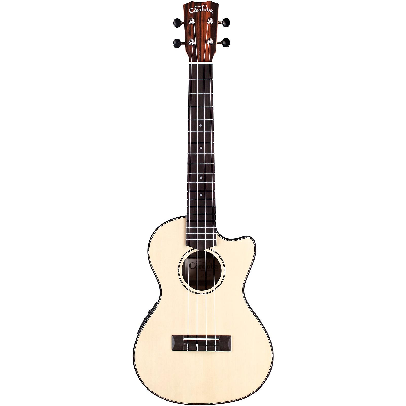 Cordoba 21T-CE Tenor Acoustic-Electric Ukulele