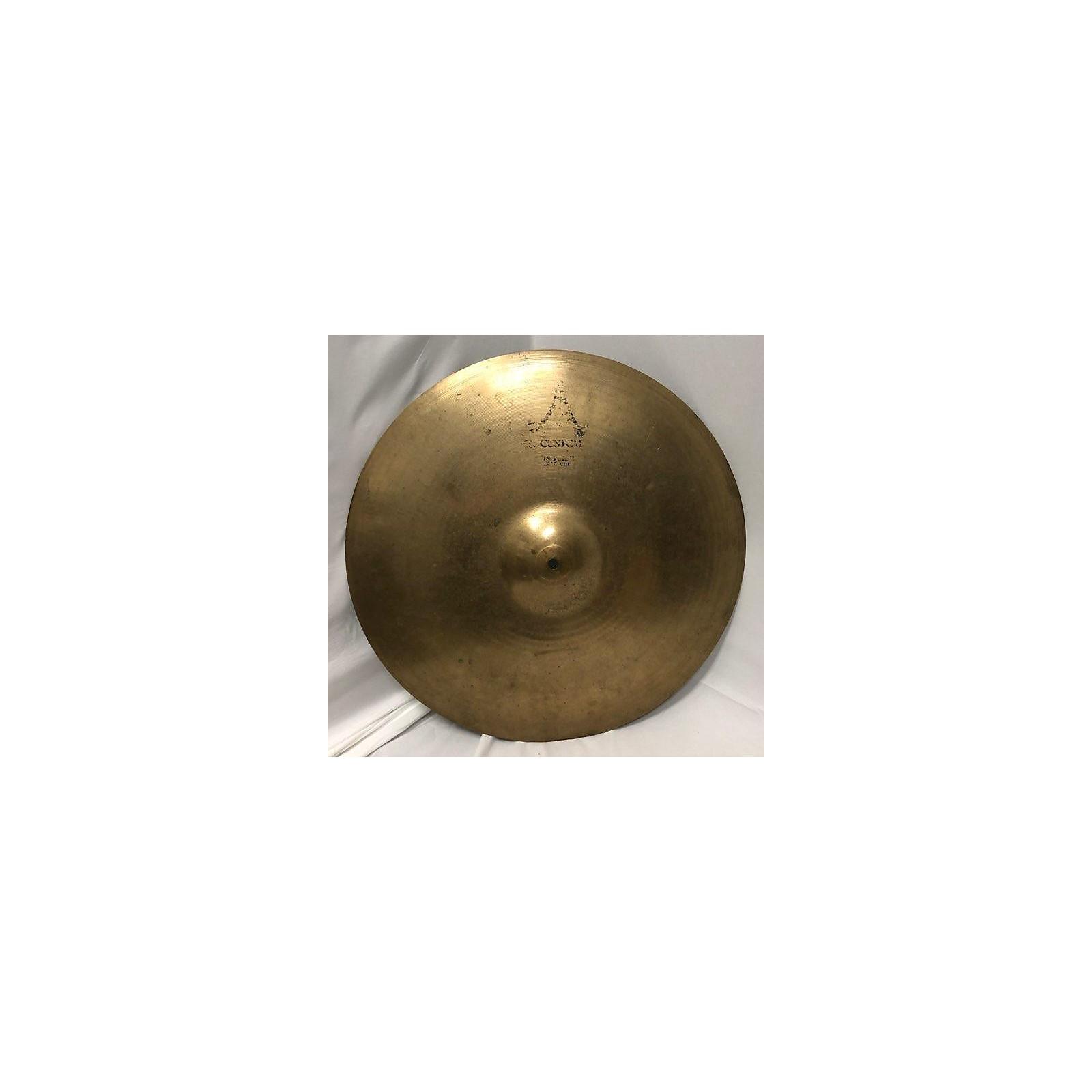 Zildjian 21in A Custom Ride Cymbal