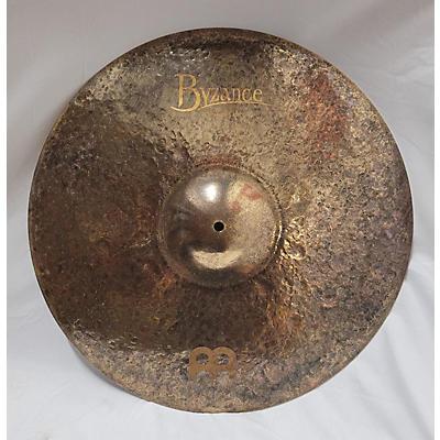 MEINL 21in MEINL B21TSR BYZANCE MIKE JOHNSTON SIG TRANSITION Cymbal