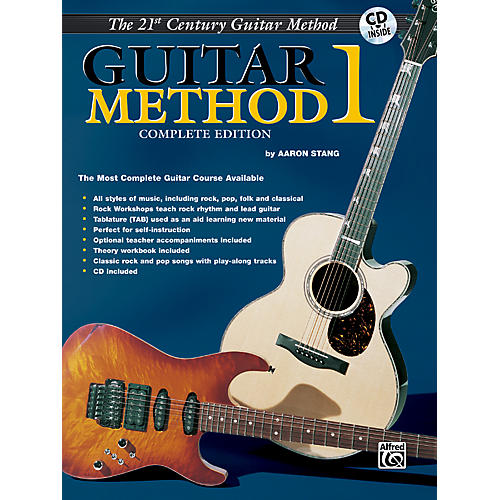 Alfred 21st Century Guitar Method 1 Complete Edition 3 Books & CD (includes Guitar Theory 1 and Guitar Song Trax 1)