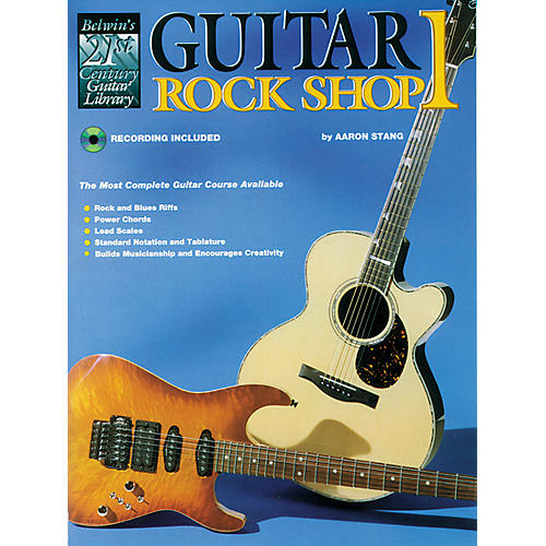 Alfred 21st Century Guitar Rock Shop Volume 1 Book/CD