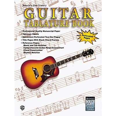 Alfred 21st Century Guitar Tablature Paper Book