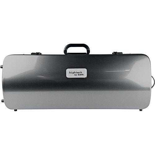 Bam 2201XL Hightech Large Adjustable Viola Case without Pocket Silver Carbon