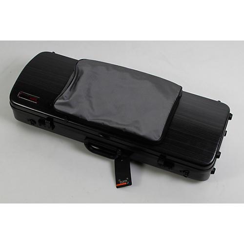 Bam 2202XL Hightech Large Adjustable Viola Case with Pocket Condition 3 - Scratch and Dent Black Lazure 194744148606