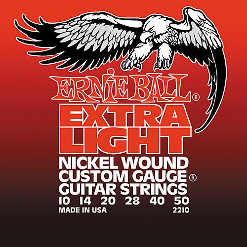 Ernie Ball 2210 Slinky Nickel Wound Extra Light Electric Guitar Strings