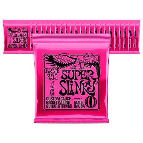 Ernie Ball 2223 Nickel Regular Slinky Electric Guitar Strings - 24 Pack