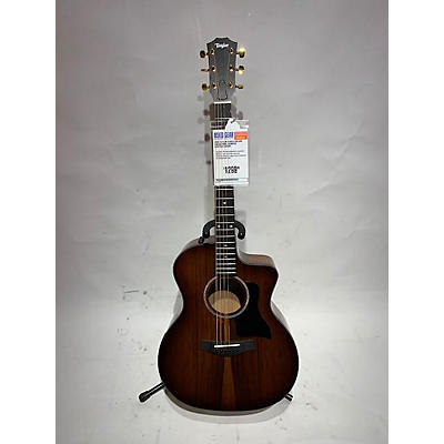 Taylor 224CE-K Deluxe Koa Acoustic Electric Guitar