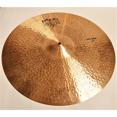 Paiste 22in 2002 BIG BEAT RIDE Cymbal