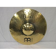 Meinl 22in Byzance Heavy Hammered Ride Brilliant Cymbal