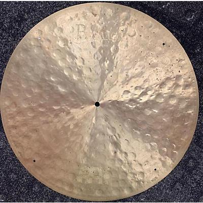 Meinl 22in Byzance Jazz Club Ride Traditional Cymbal