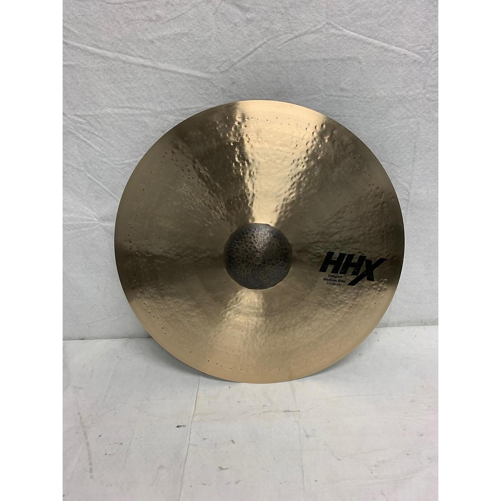 Sabian 22in HHX Complex Medium Ride Cymbal