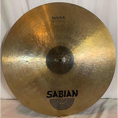 Sabian 22in Meet The Masters AA Prototype Cymbal