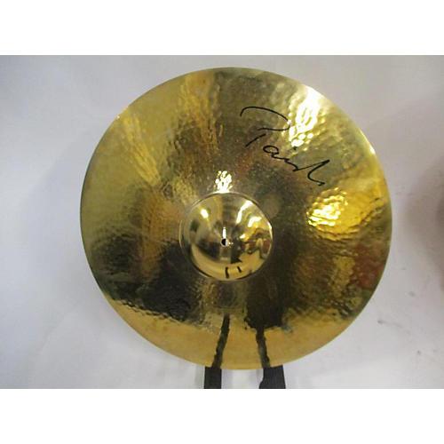 Paiste 22in Reflektor Nicko McBrain Powerslave Signature Ride Cymbal 42