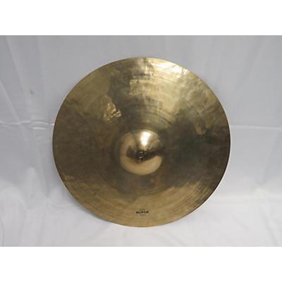Wuhan Cymbals & Gongs 22in Ride Cymbal