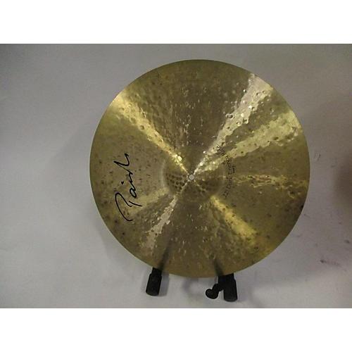Paiste 22in Signature Dark Energy Ride Mark II Hand Hammered Cymbal 42