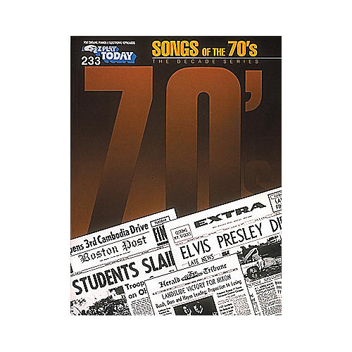 Hal Leonard 233. Songs Of The 70's