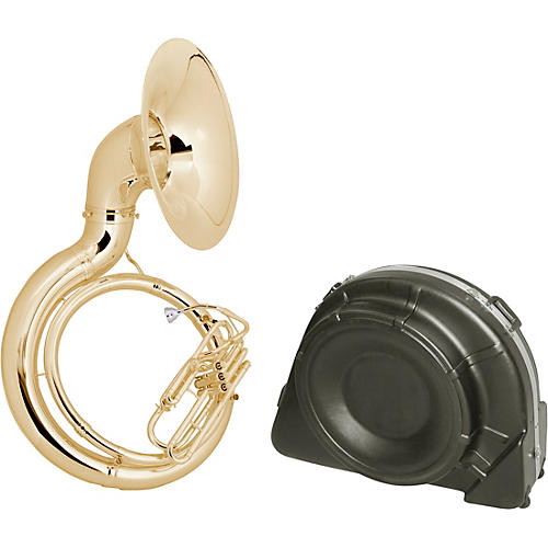 King 2350 Series Brass BBb Sousaphone 2350W Lacquer With Case