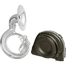 2350 Series Brass BBb Sousaphone 2350WSB Satin Silver With Case