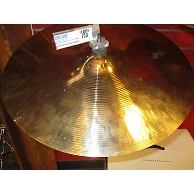 Wuhan Cymbals & Gongs 23in Med Heavy Ride Cymbal