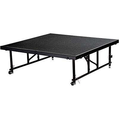 """National Public Seating 24""""-32"""" Height Adjustable 4' x 4' TransFix Stage Platform"""