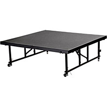 "National Public Seating 24""-32"" Height Adjustable 4' x 4' TransFix Stage Platform"