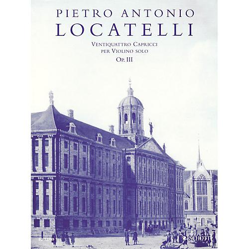 Schott 24 Capricci per Violino Solo, Op. 3 (Critical Edition Violin Solo) Schott Series
