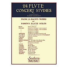 Southern 24 Flute Concert Studies (Unaccompanied Flute) Southern Music Series Composed by Johann Sebastian Bach