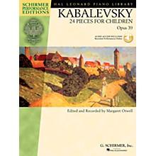 G. Schirmer 24 Pieces for Children Op 39 Book/CD - Schirmer Performance Edition By Kabalevsky / Otwell