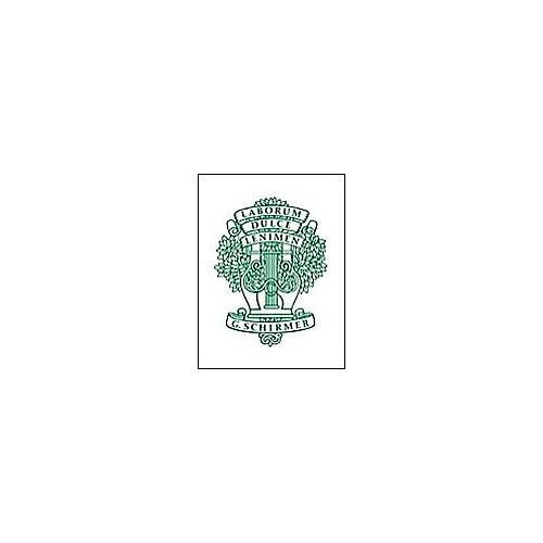G. Schirmer 24 Progressive Vocalises Op. 85 Book 1 by Panofka H P