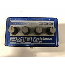 DOD 240 RESISTANCE MIXER Unpowered Mixer
