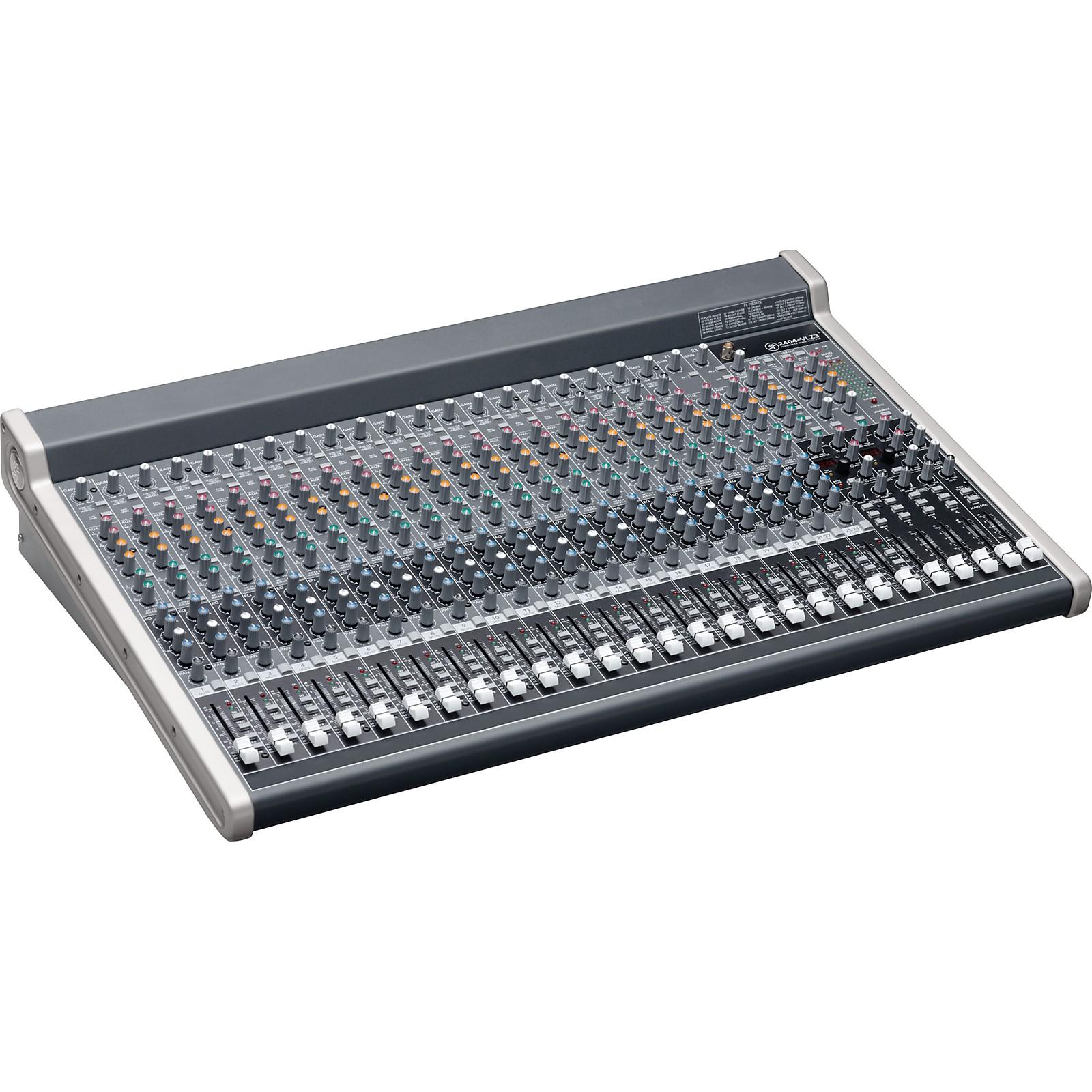 Mackie 2404-VLZ3 Premium 24-Channel FX Mixer with USB Black