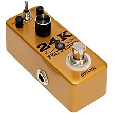 Open Box Outlaw Effects 24K Guitar Reverb Pedal
