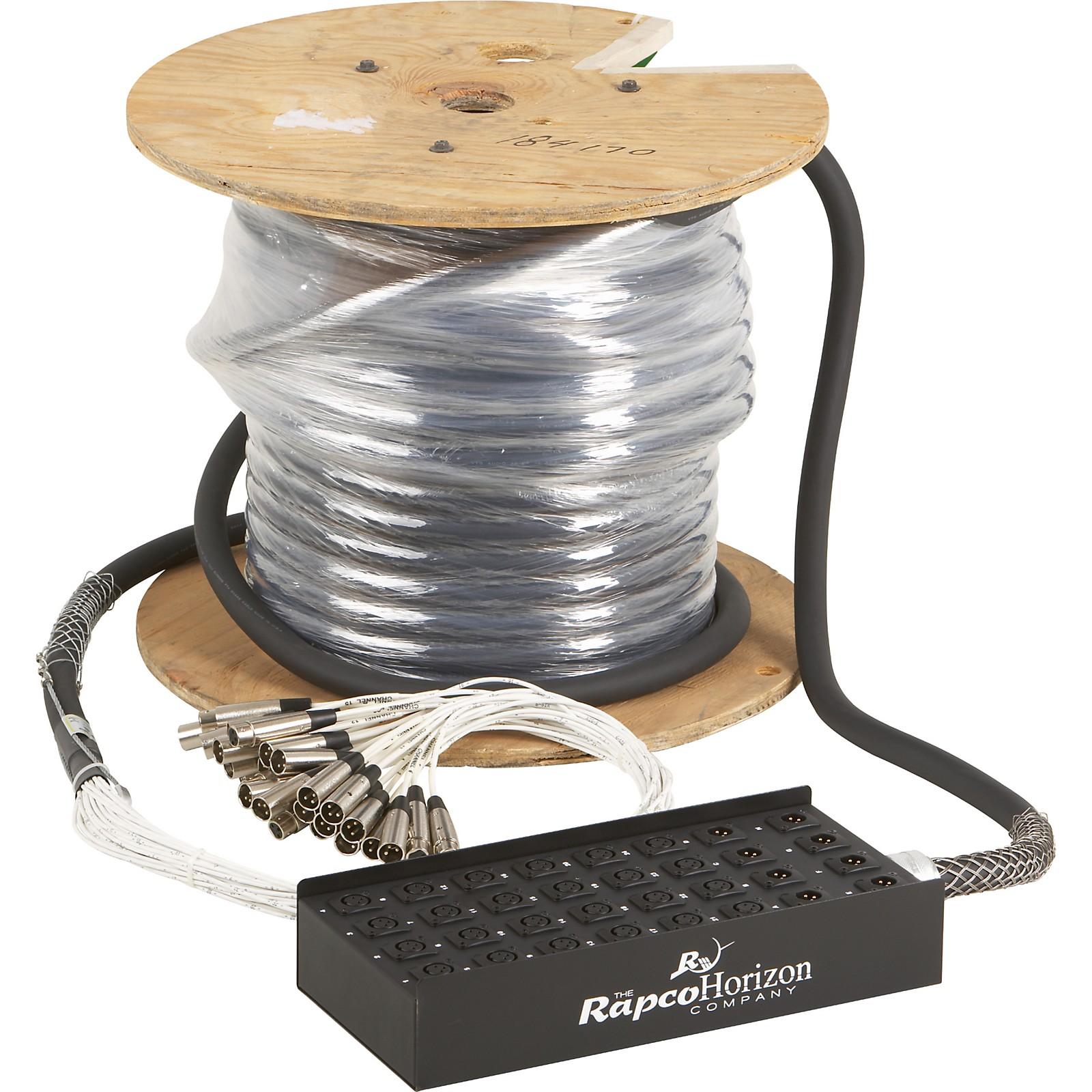 Rapco Horizon 24X8 XLR Fan-Box Snake