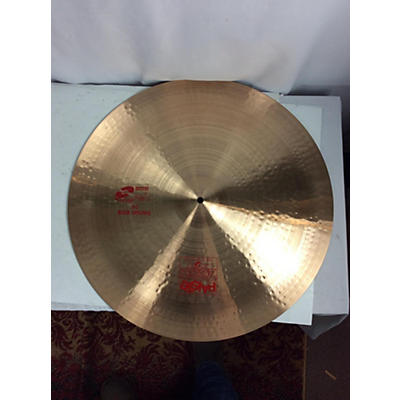Paiste 24in 2002 SWISH RIDE Cymbal
