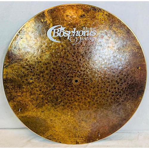 Bosphorus Cymbals 24in Vintage Flat Ride Cymbal 44