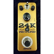 Outlaw Effects 24k Reberb Effect Pedal