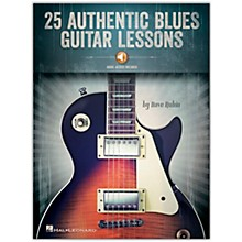 Hal Leonard 25 Authentic Blues Guitar Lessons Book/Audio Online