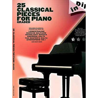 Music Sales 25 Classical Pieces For Piano Graded - Dip In Series