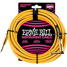 25 FT Straight to Angle Instrument Cable Gold