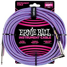 25 FT Straight to Angle Instrument Cable Purple